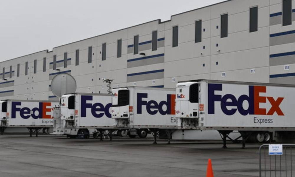 FedEx begins shipping newly approved Covid-19 vaccine in the US