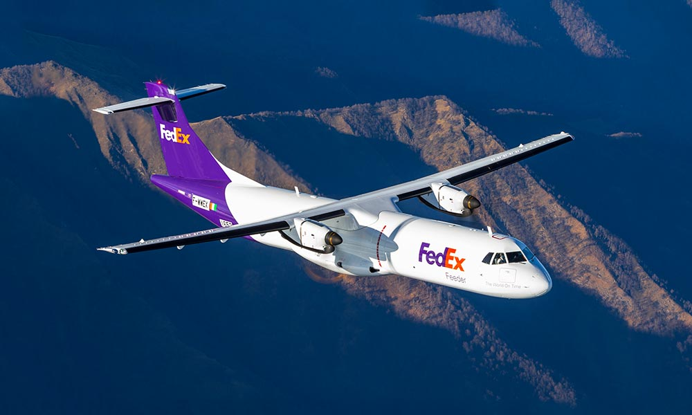 FedEx gets delivery of its first of 30 ATR 72-600F aircraft