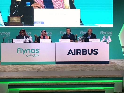 Flynas orders 60 Airbus A320neo family aircraft