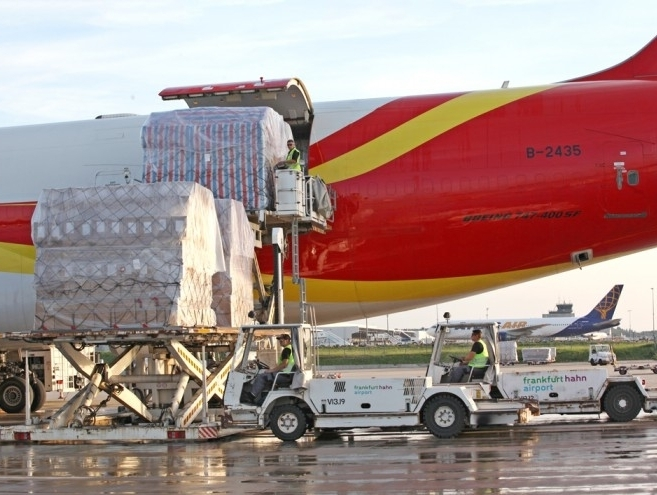 Frankfurt-Hahn Airport continues to see positive freight development