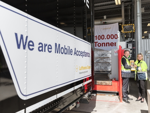 100,000 tonnes of cargo pass through Fraport AG's Speed Gate
