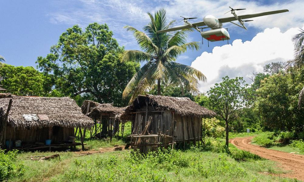 Gates Foundation funds WeRobotics to help WHO's use of medical drone delivery