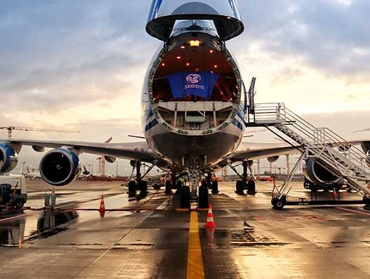 Geodis launches air charter and rail services for urgent shipments