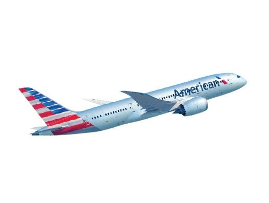 American Airlines Cargo glittering young at 75