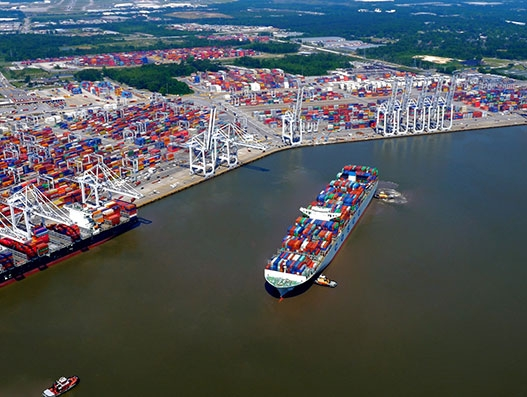 Georgia Ports Authority moves 33.4 million tonnes of cargo across all terminals – an all-time high