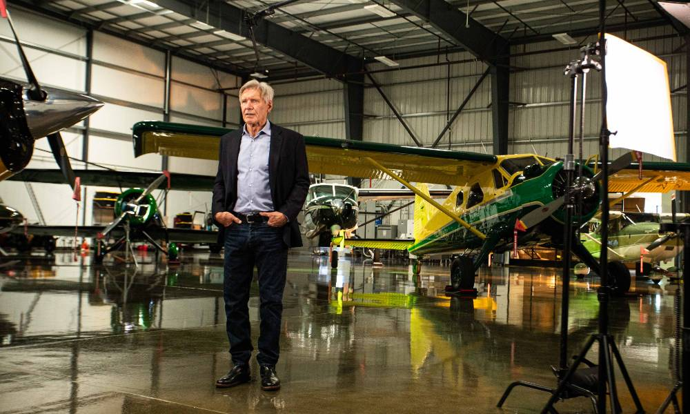 Harrison Ford partners with disaster relief non-profit Airlink