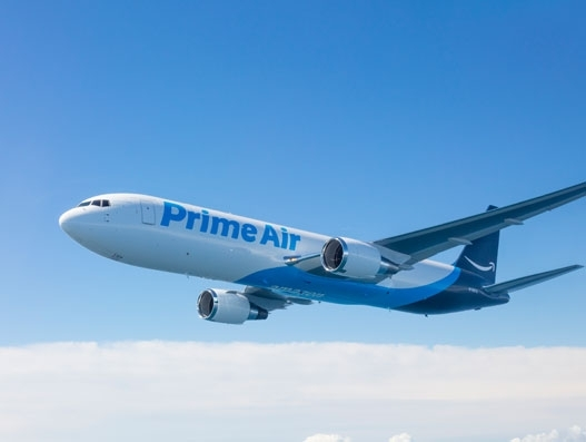 High-flying Amazon on a roll for speed deliveries