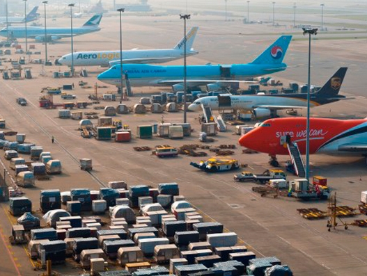Hong Kong Airport registers 12.9 percent cargo growth in May this year