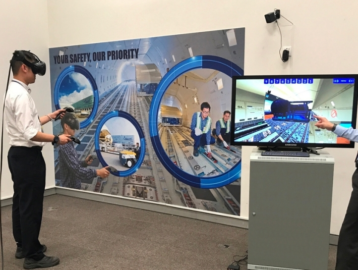 Hong Kong's Hactl introduces VR training system
