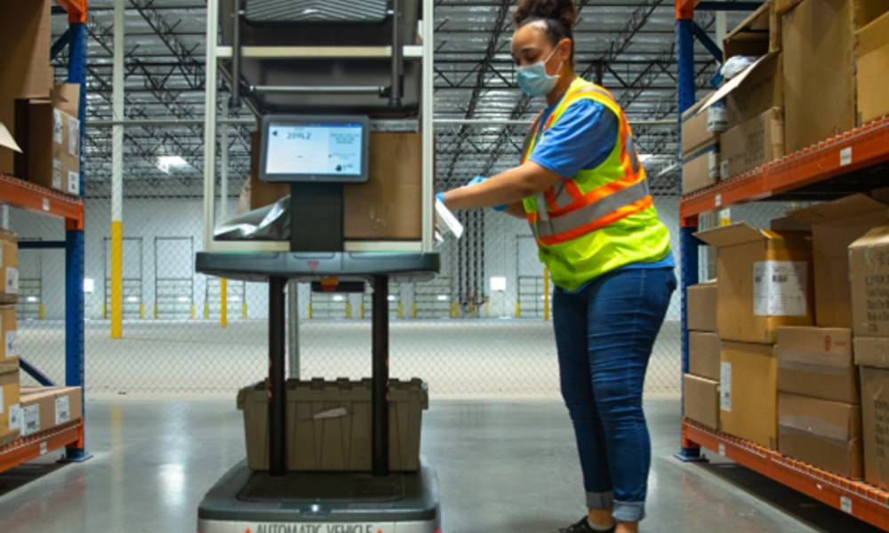 How robotics technology is beneficial in a modern warehouse