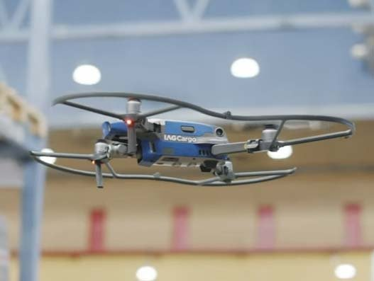 IAG Cargo finds warehouse solution using FlytBase drone technology