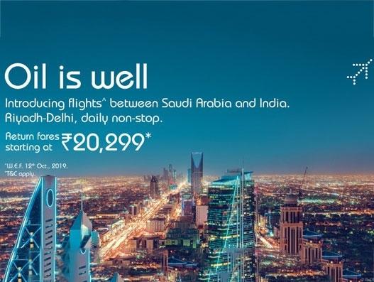 IndiGo to fly from Delhi to Riyadh & Kuwait starting Oct. 11