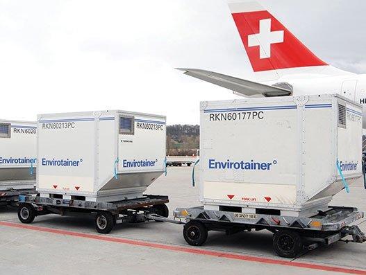 Innovating to keep flying pharma safe