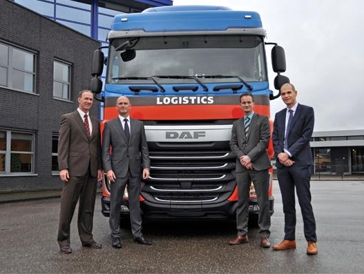 Jan de Rijk Logistics acquires another 100 new DAFs