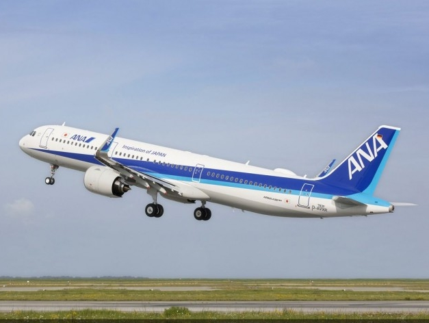 Japan's ANA takes delivery of A321neo