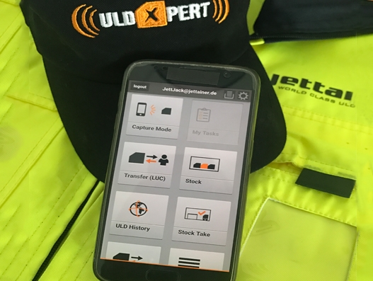 Jettainer releases new smart phone app