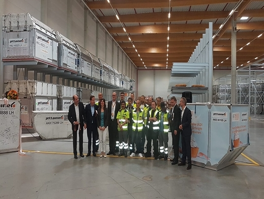 Jettainer inaugurates its new logistics center