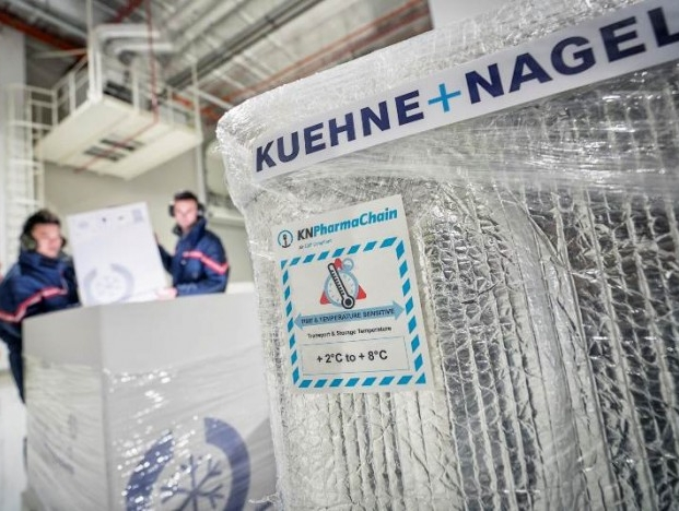 Kuehne + Nagel growth momentum accelerated; all business units recorded significant market share gain
