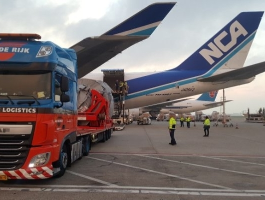 Kuehne Nagel transports first Trent 7000 Engine from Amsterdam to Osaka
