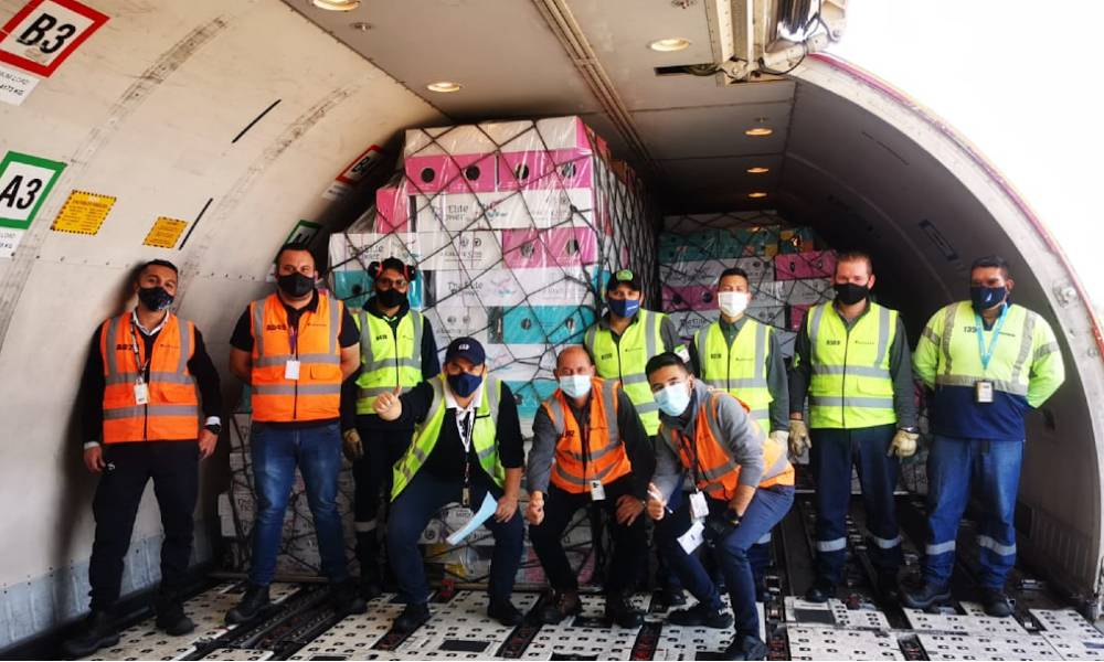 LATAM Cargo Group carries more than 13,200 tonnes of flowers around the world