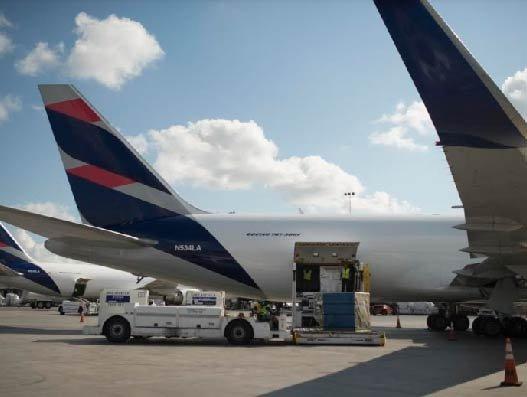 LATAM Cargo to fly daily between EU, South America