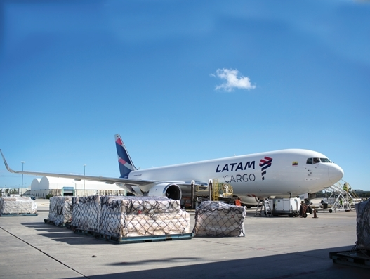 Latin American air freight is flying high