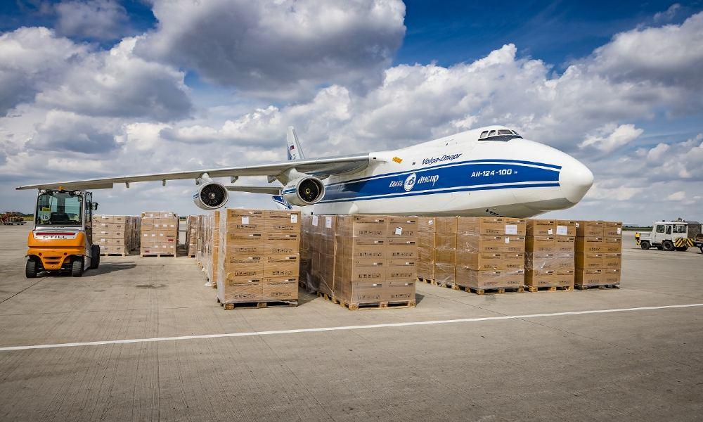 Leipzig/Halle Airport annual freight volume exceeds 1 million tonne in August