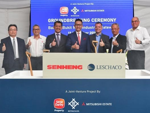 Leschaco breaks ground for new logistics facility in Malaysia