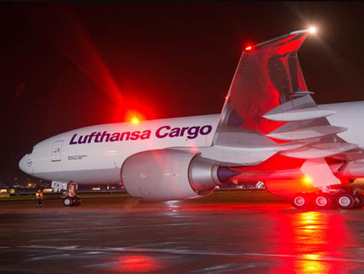 Lufthansa Cargo announces increased frequencies to Shanghai and Guangzhou