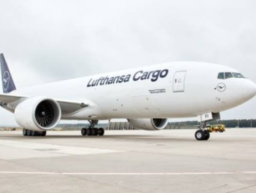 Lufthansa Cargo welcomes ninth B777F in Frankfurt