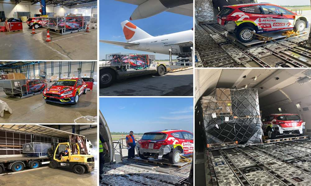 Magma Aviation flies 28 tonnes of rally vehicles from Liege to Nairobi