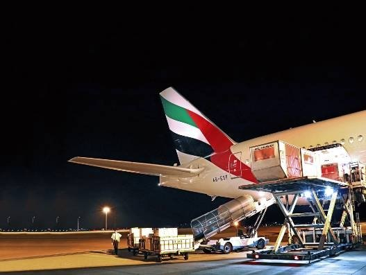 As the Covid-19 pandemic continues to disrupt trade flows and supply chains, air cargo capacity has significantly dropped due to government travel restrictions and grounding of commercial passenger flights. However, air cargo carriers in the Middle East have been ramping up emergency response operations and scaled