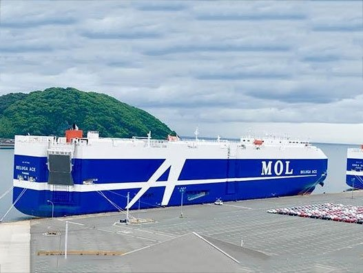 MOL Group develops AI-backed cargo loading plan for cars