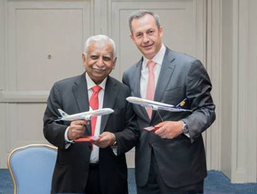 Jet Airways and Aeromexico sign codeshare MoU