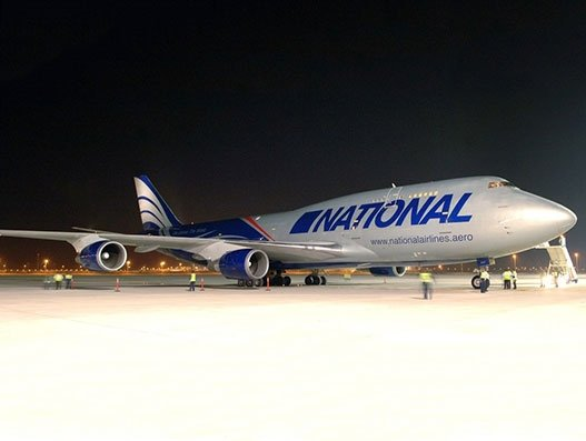 National Airlines delivers critical medical supplies across the globe