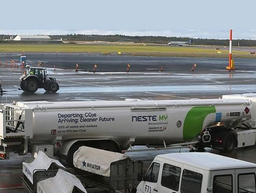 Neste partners with KLM for sustainable aviation fuel
