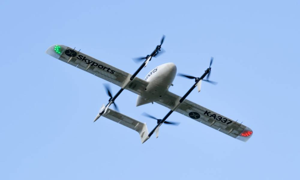 NHS launches UK's first Covid-19 test drone delivery service in Scotland