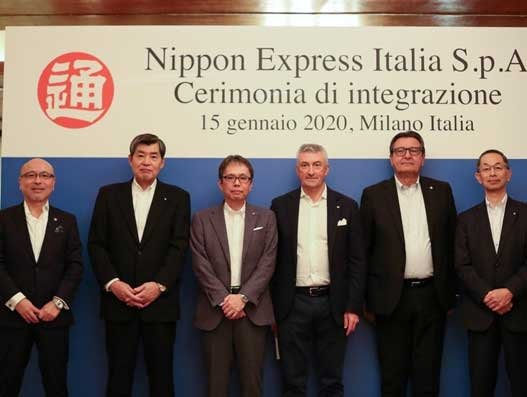 Nippon Express merges three group companies in Italy