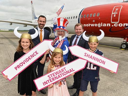 Norwegian Air checks in for Shannon Airport's maiden transatlantic flight