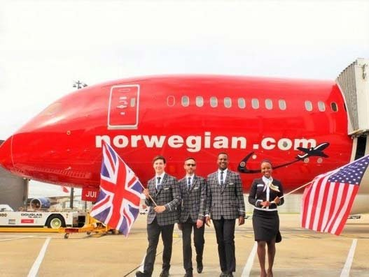 Norwegian opens up more capacity on key UK-US routes