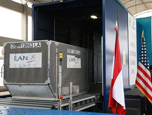 Jorge Chavez International Airport gets new air cargo electronic monitoring facility