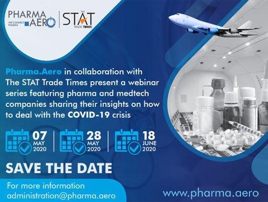 Pharma.Aero launches webinar series to discuss Covid-19 crisis