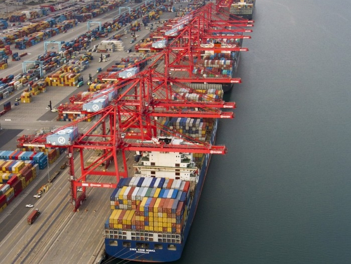 Port of Long Beach sees 8% y/y growth in container volume in August