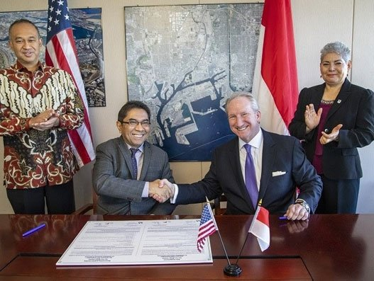 Port of Los Angeles and Indonesia Port Corporation join hands