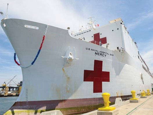 Port of Los Angeles prepares for arrival of USNS MERCY to fight Covid-19