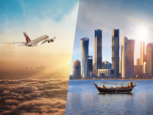 Qatar Airways and Qatar Tourism Partnership offers free stopover for Doha transit passengers