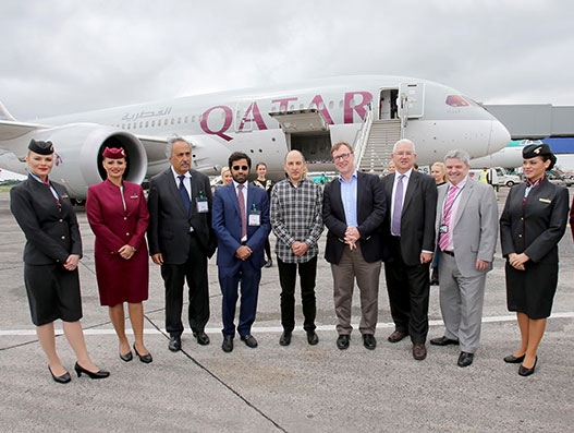 Qatar Airways connects Doha and Dublin with daily direct flights