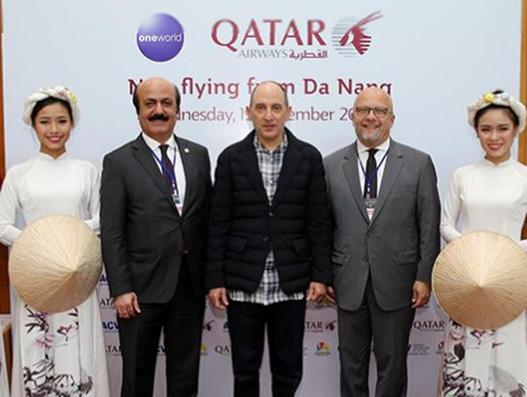 Qatar Airways starts services to its third Vietnamese destination Da Nang
