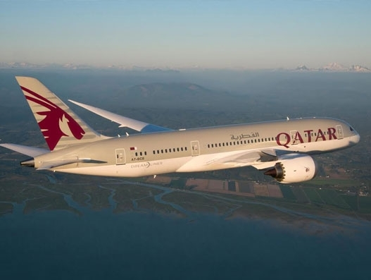 Qatar Airways' inaugural flight to Portugal touches down at Lisbon Airport