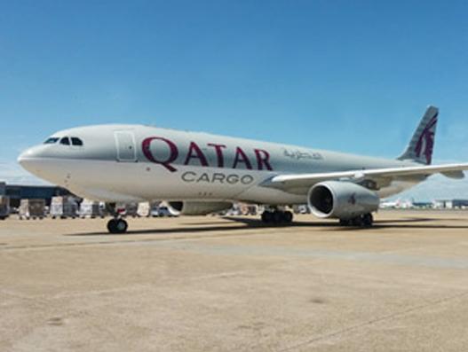 Qatar Airways Cargo starts freighter services to London's Heathrow Airport